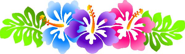 Hawaiian flower clipart borders clipart transparent Hawaiian Flower Border | Free download best Hawaiian Flower Border ... clipart transparent