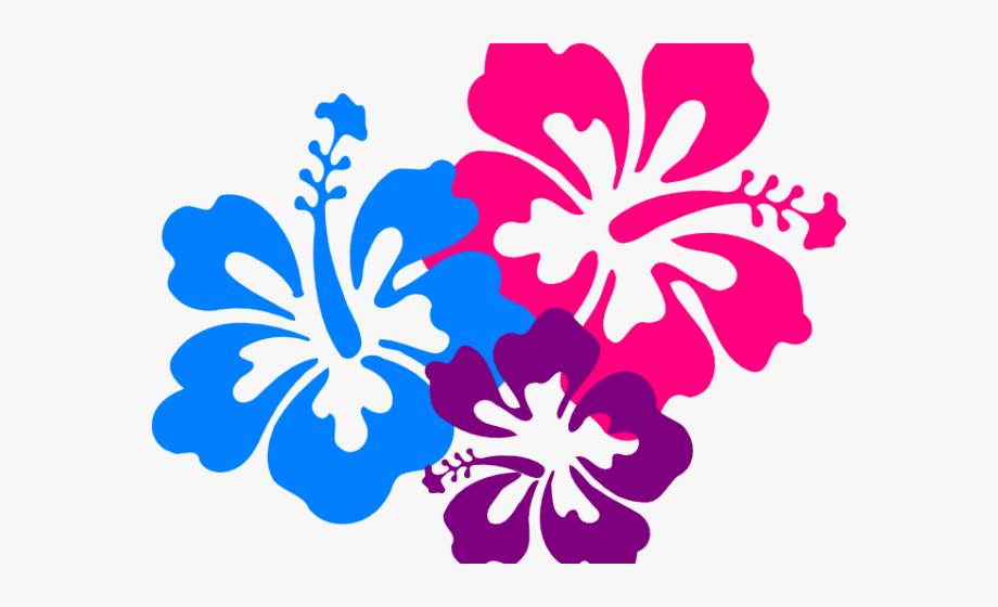 Hawaiian flower clipart borders graphic black and white Hawaiian Flower Clipart Png #1351104 - Free Cliparts on ClipartWiki graphic black and white