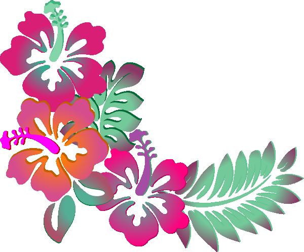 Hawaiian flower clipart borders clip art free Hawaiian flower border clipart 4 - WikiClipArt clip art free