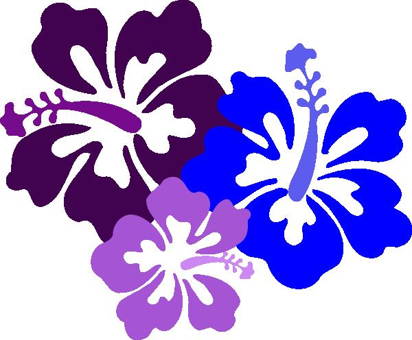 Hawaiian hibiscus flower clipart vector black and white stock Hawaiian Flower Clip Art | Hibiscus 23 clip art - vector clip art ... vector black and white stock