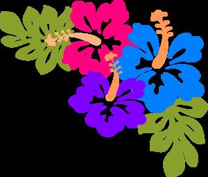Hawaiian hibiscus flower clipart vector transparent stock Hibiscus Clip Art at Clker.com - vector clip art online, royalty ... vector transparent stock