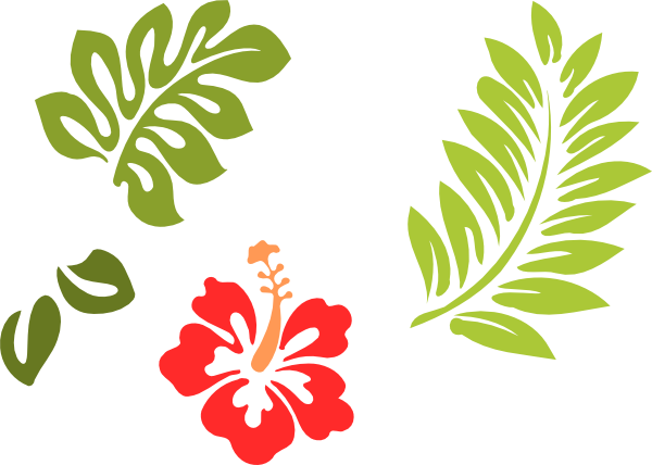 Hawaiian leaf clipart graphic library hawaiian stencils free | ... 24 clip art - vector clip art online ... graphic library