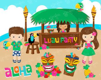 Hawaiian luau party clipart png freeuse download Luau party clipart – Gclipart.com png freeuse download