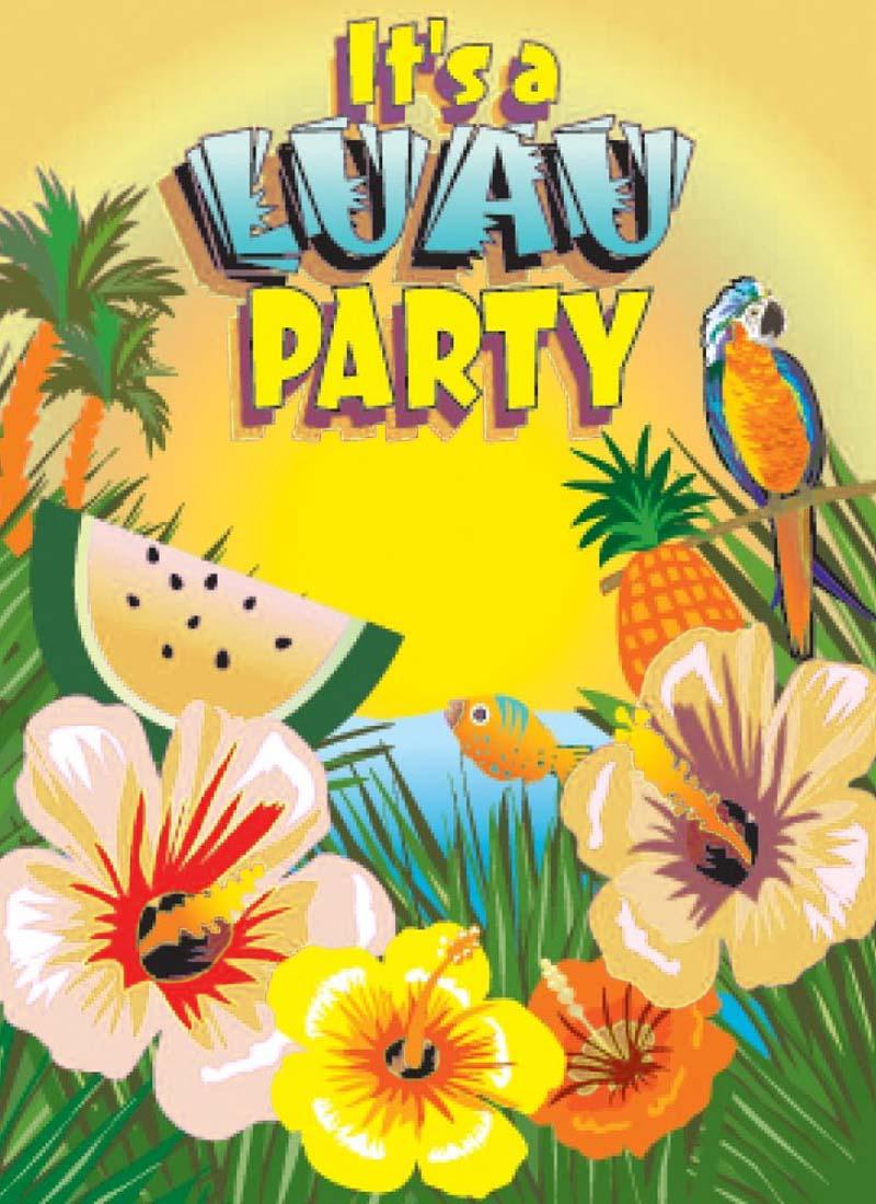 Hawaiian luau party clipart banner free download Hawaiian Luau Party Clip Art - Clipart1001 - Free Cliparts banner free download