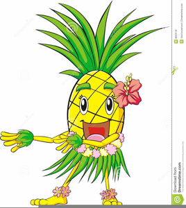 Hawaiian pineapple clipart freeuse download Hawaiian Pineapple Clipart | Free Images at Clker.com - vector clip ... freeuse download
