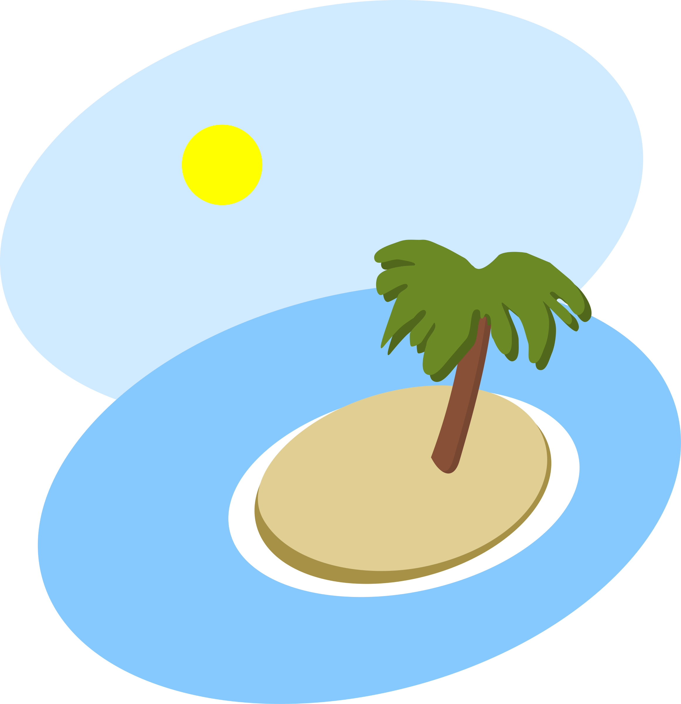 Hawaiin sun clipart jpg royalty free download Summer Scene Clipart at GetDrawings.com | Free for personal use ... jpg royalty free download