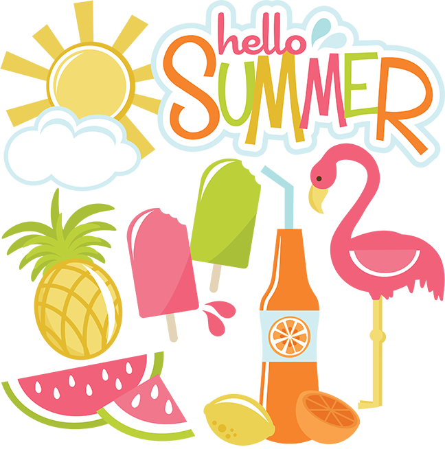 Summer sun and cloud clipart svg library stock Colfer, Lauren / Summer Message svg library stock