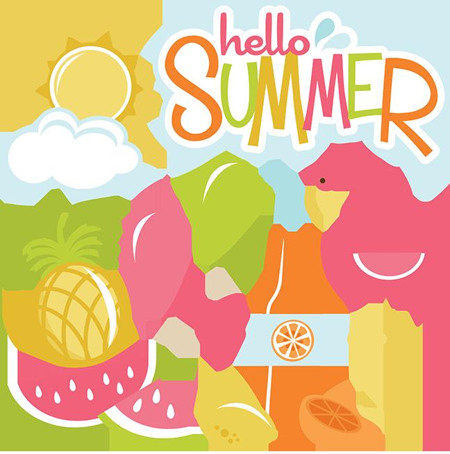 Hawaiin sun clipart vector royalty free stock Colfer, Lauren / Summer Message vector royalty free stock