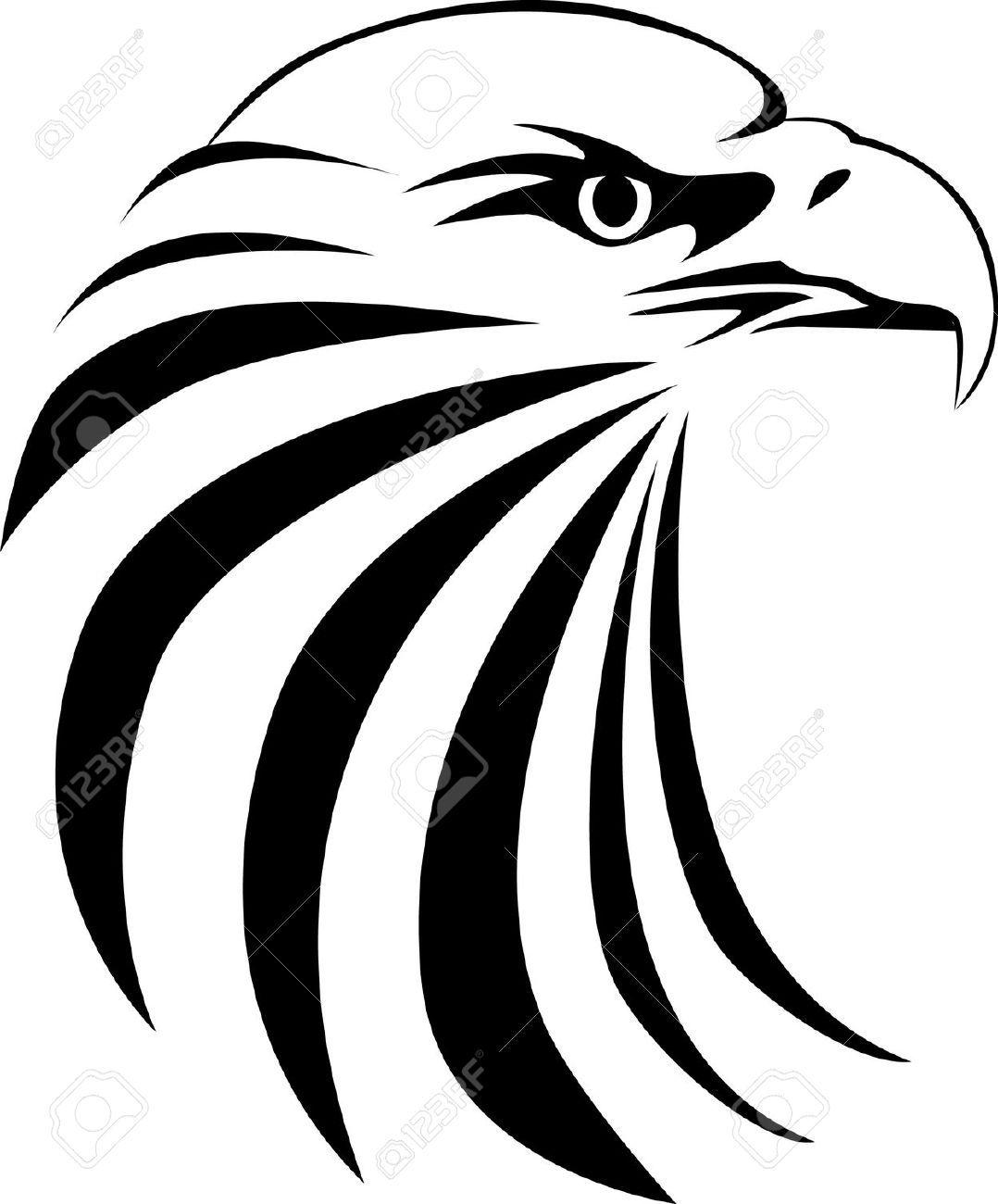 Hawk head clipart vector transparent stock Hawk head clipart 5 » Clipart Portal vector transparent stock