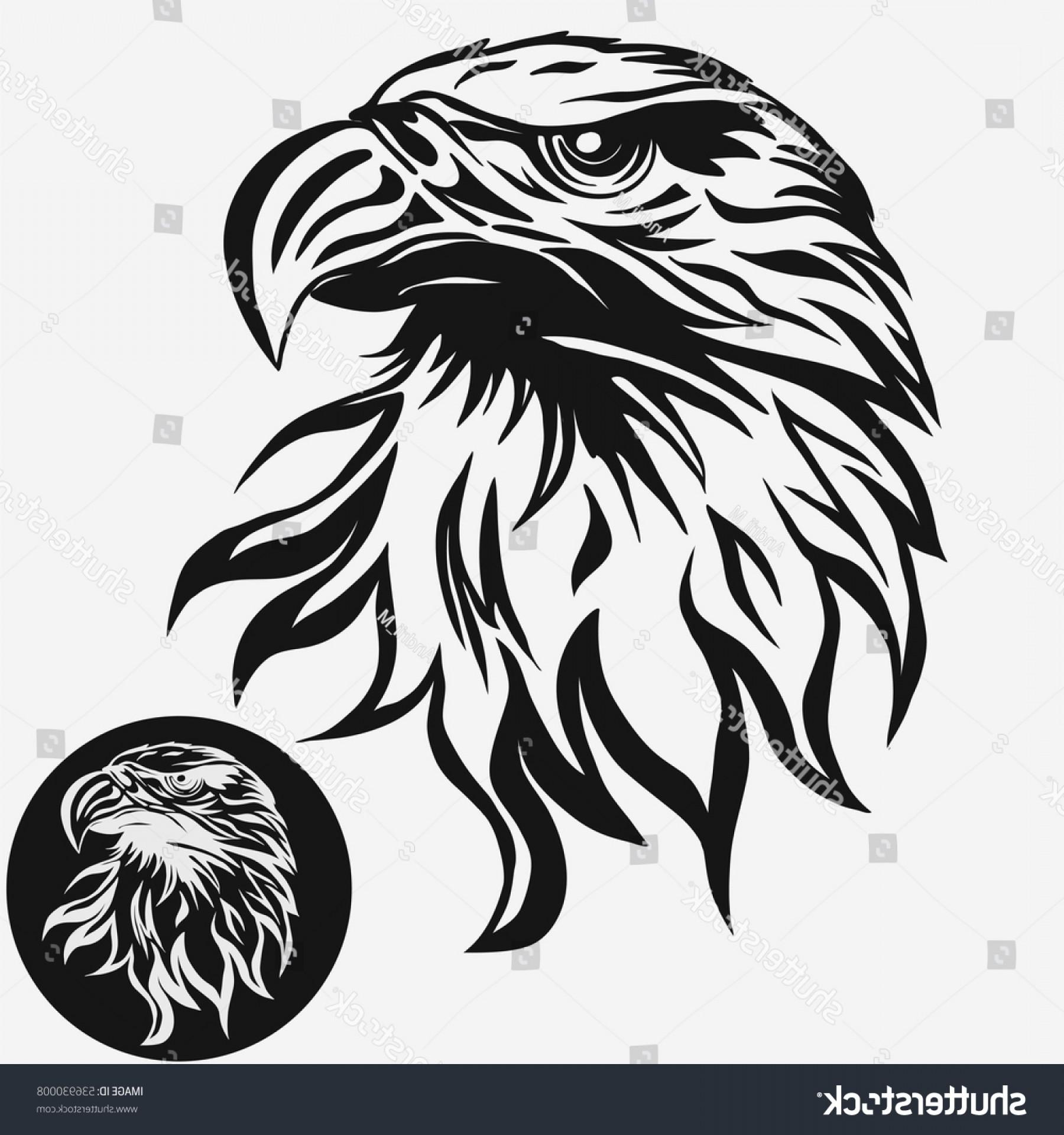 Hawk mascot clipart jpg black and white library Eagle Head Logo Template Hawk Mascot   SOIDERGI jpg black and white library