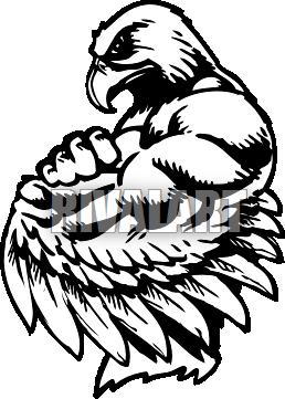 Hawk mascot clipart png royalty free Image gallery hawk mascot clip art - Clipartable.com png royalty free