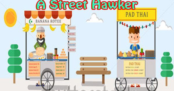 Hawkers logo clipart vector library stock Street Hawker essay in English. - Hania Naz vector library stock