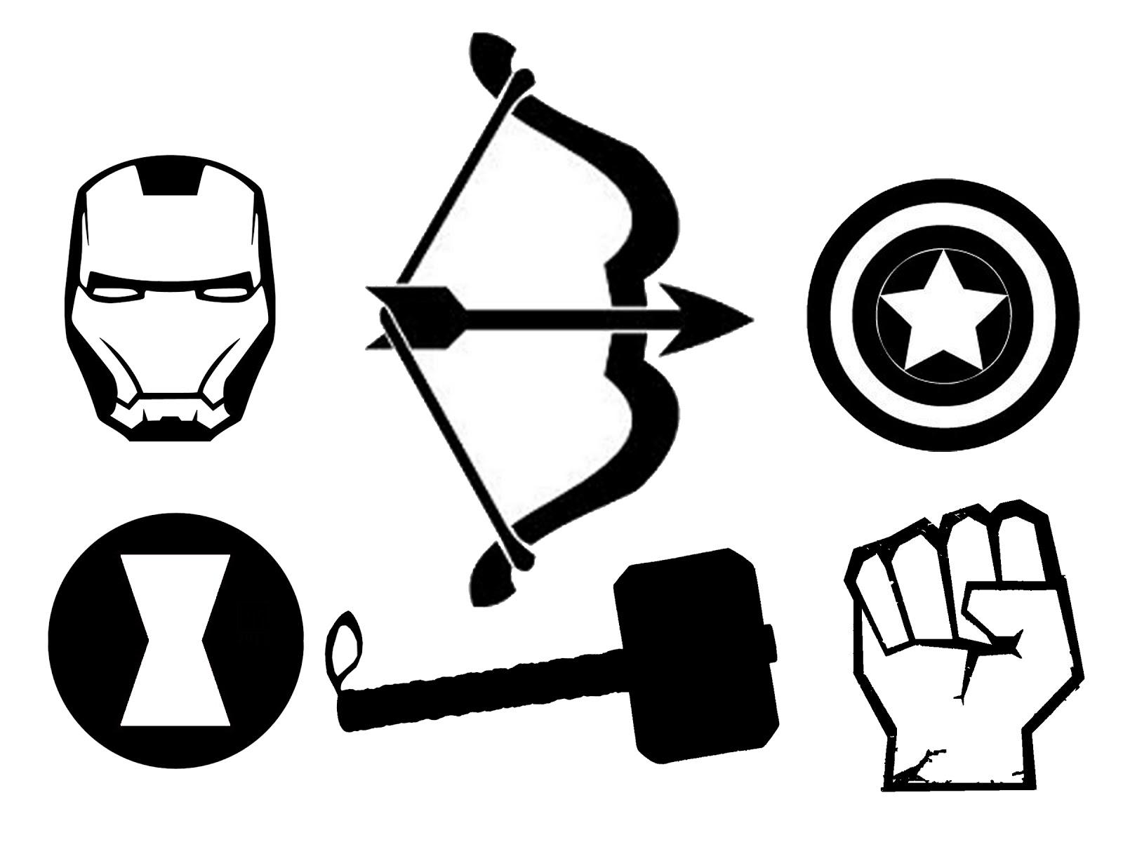 Hawkeye logo marvel clipart clip black and white stock Hawkeye logo marvel clipart - ClipartFest clip black and white stock