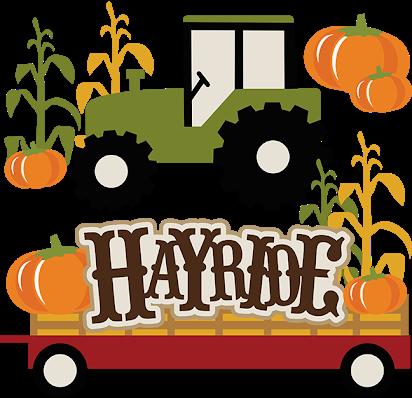 Hayrides clipart jpg free Hayride free clip art jpg free