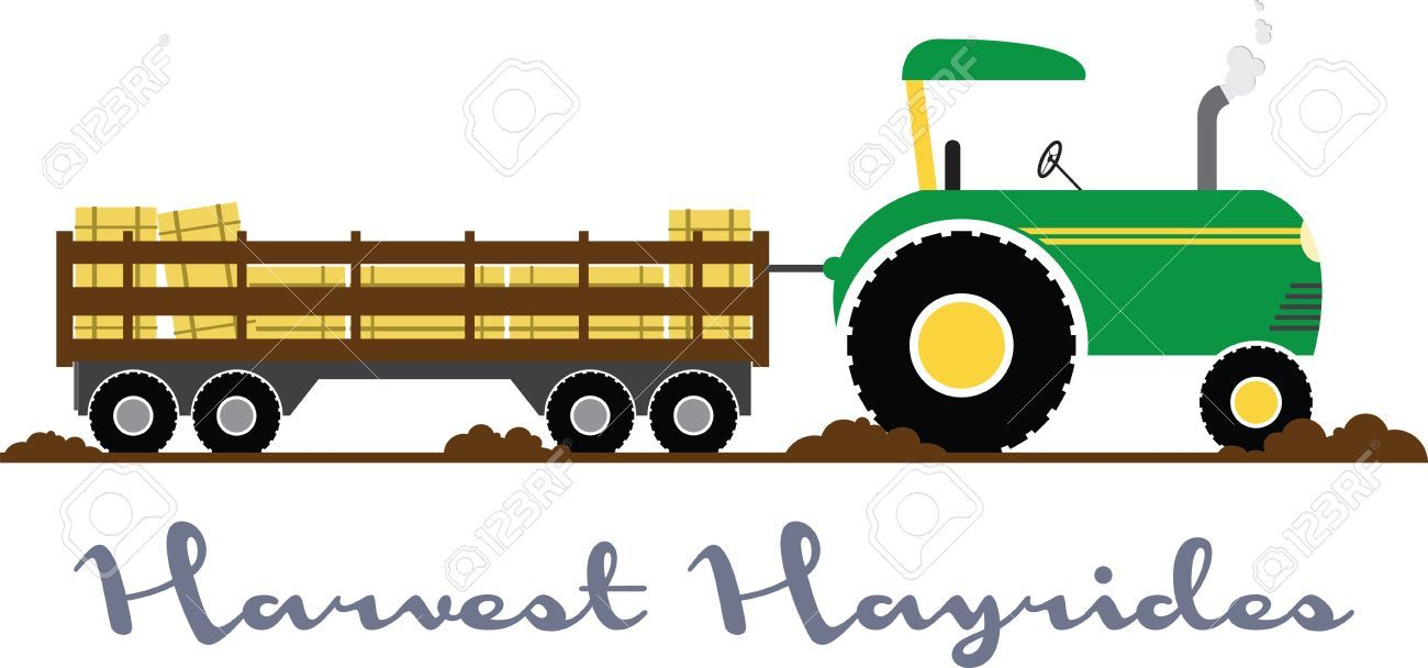 Hayrides clipart picture free stock Hayride clipart free 4 » Clipart Portal picture free stock