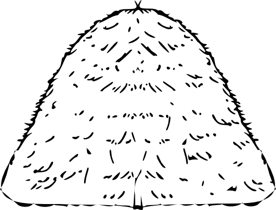 Haystack clipart black and white jpg clipartist.net » Clip Art » haystack black white line art SVG jpg