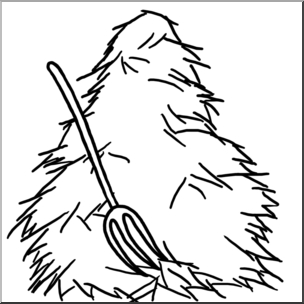 Haystack clipart black and white clipart free download Clip Art: Hay B&w I Abcteach | Abcteach in Hay Clipart Black And ... clipart free download