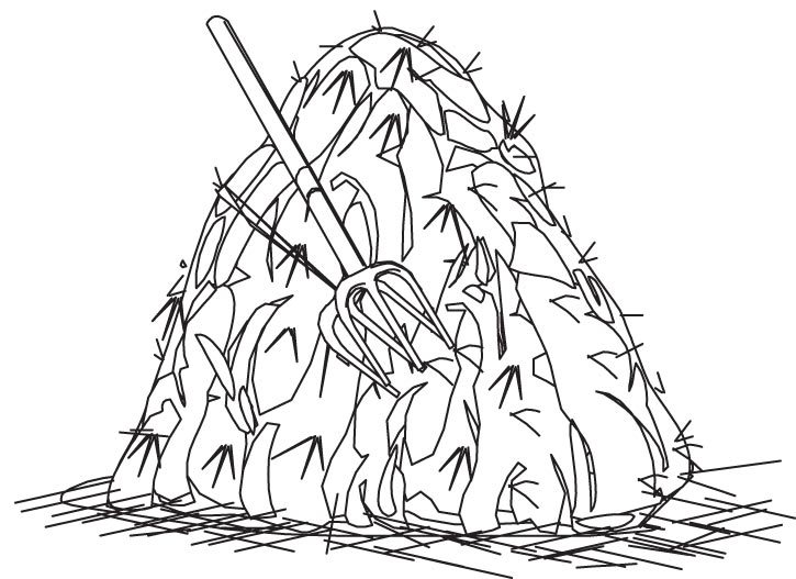 Haystack clipart black and white png freeuse stock Haystack Clipart Black And White #6 - 527*725 - Free Clipart ... png freeuse stock