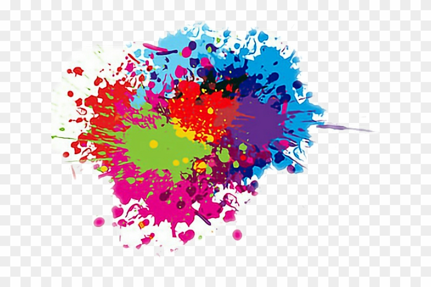 Hd clipart effects vector free download Color Effects Clipart Color Splash - Illustration, HD Png Download ... vector free download