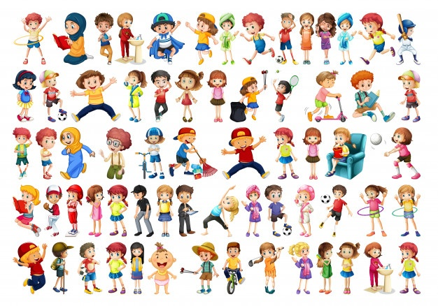 Group black teens playing together cartoon clipart clipart free library Cartoon Background Vectors, Photos and PSD files | Free Download clipart free library
