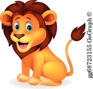Hd lion clipart banner transparent Lion Clip Art - Royalty Free - GoGraph banner transparent
