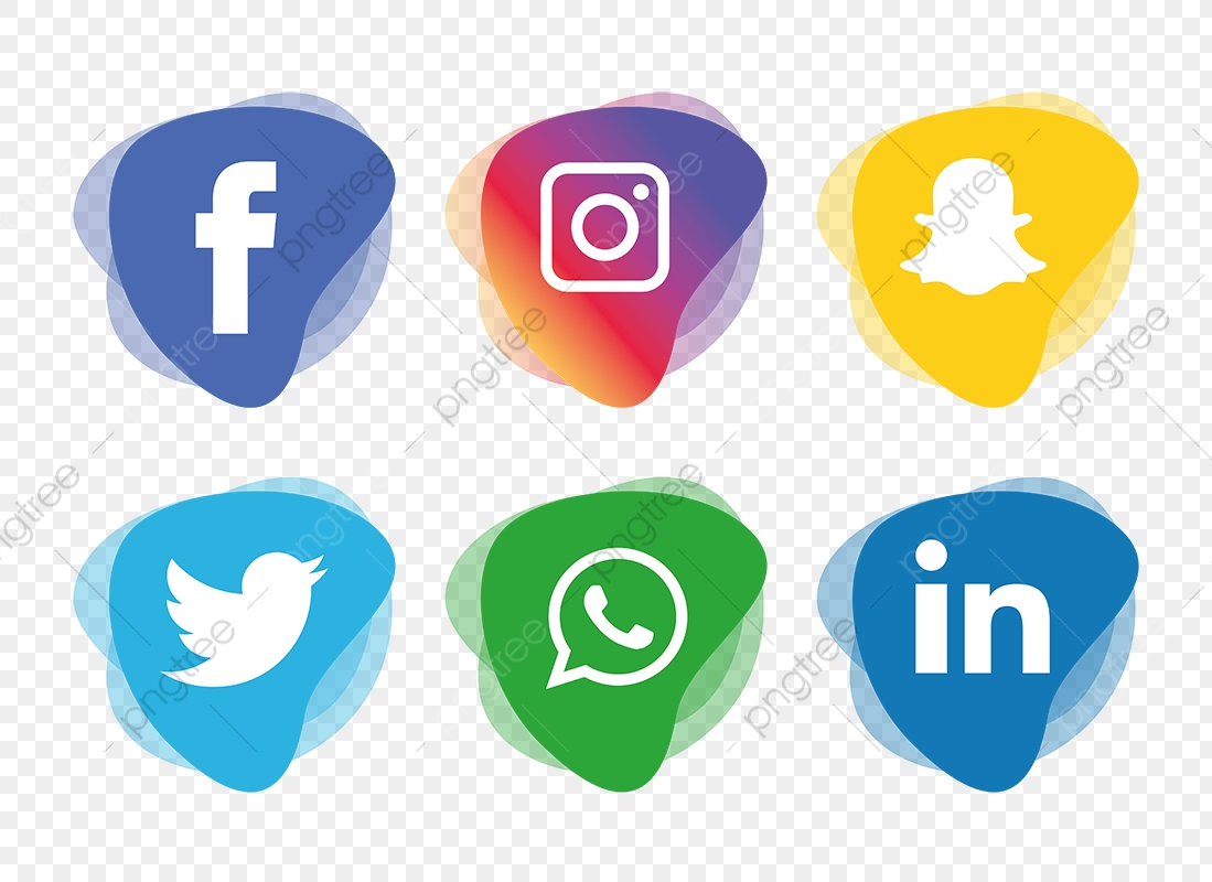 Social media icons clipart hd clip freeuse library Social Media Icons Set, Social Media Icons, Social Media, Social ... clip freeuse library