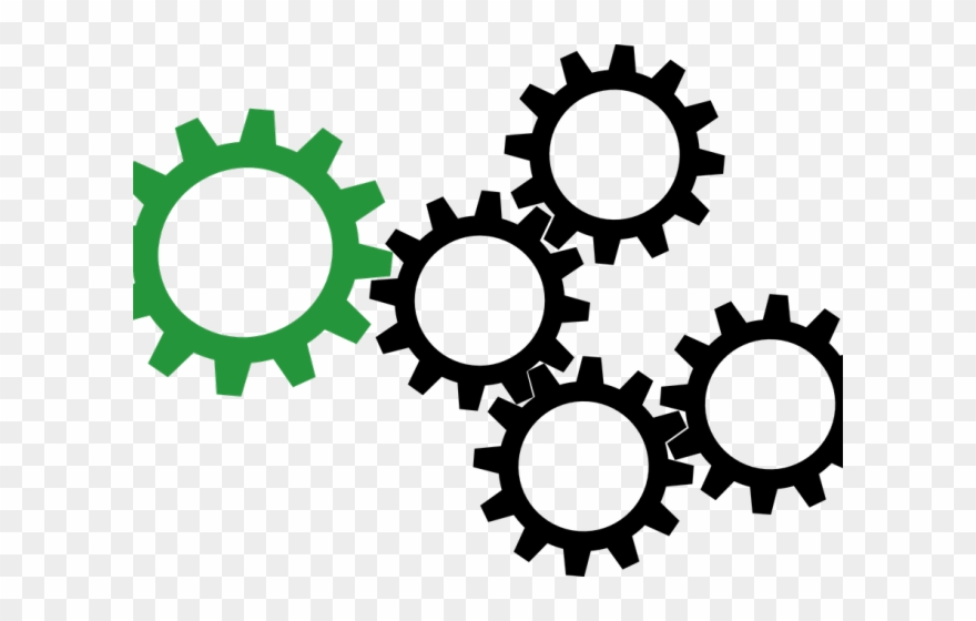 Steampunk gears clipart no background black and white svg library stock Steampunk Gear Clipart Clipart Hd - Transparent Png Gear Vector ... svg library stock
