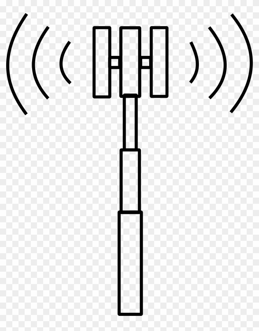Hd vertical antenna clipart image royalty free stock Antenna Clipart Cell Phone Tower - Cell Phone Tower Clipart, HD Png ... image royalty free stock