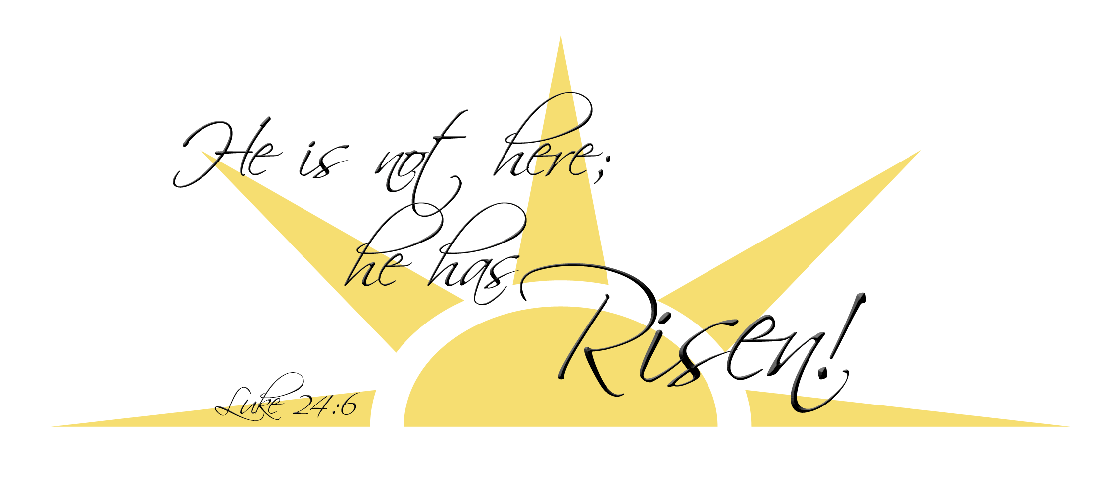 He is risen cross clipart clip free library Rejoice He Is Risen Images – Happy Easter 2018 clip free library