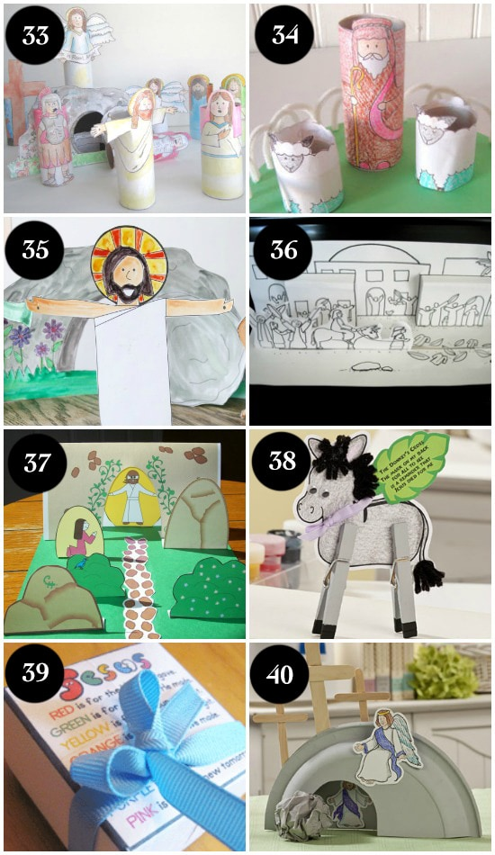 He is risen easter craft clipart for free picture freeuse stock 100+ Ideas for a Christ-Centered Easter picture freeuse stock