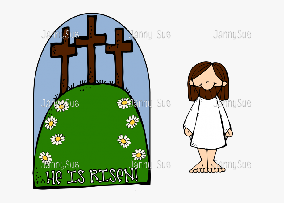 He is risen easter craft clipart for free vector library The Cross He Is - Kids Easter Jesus Craft #612685 - Free Cliparts on ... vector library