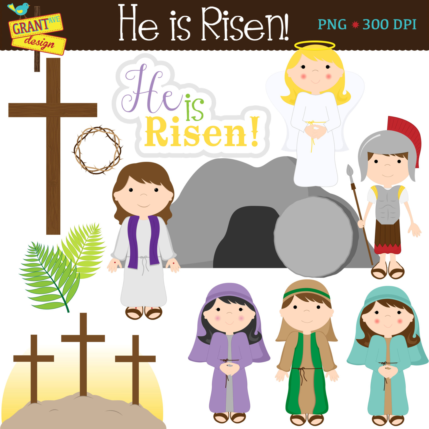 He is risen easter craft clipart for free vector download Free Christian Resurrection Cliparts, Download Free Clip Art, Free ... vector download