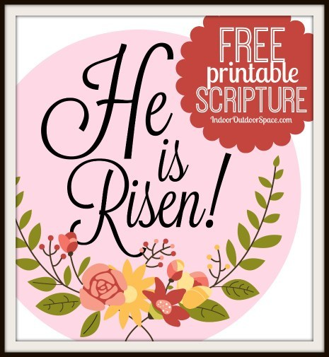 He is risen easter craft clipart for free png download Easy Laminated Easter Bookmarks Gift with Free Printable | Indoor ... png download