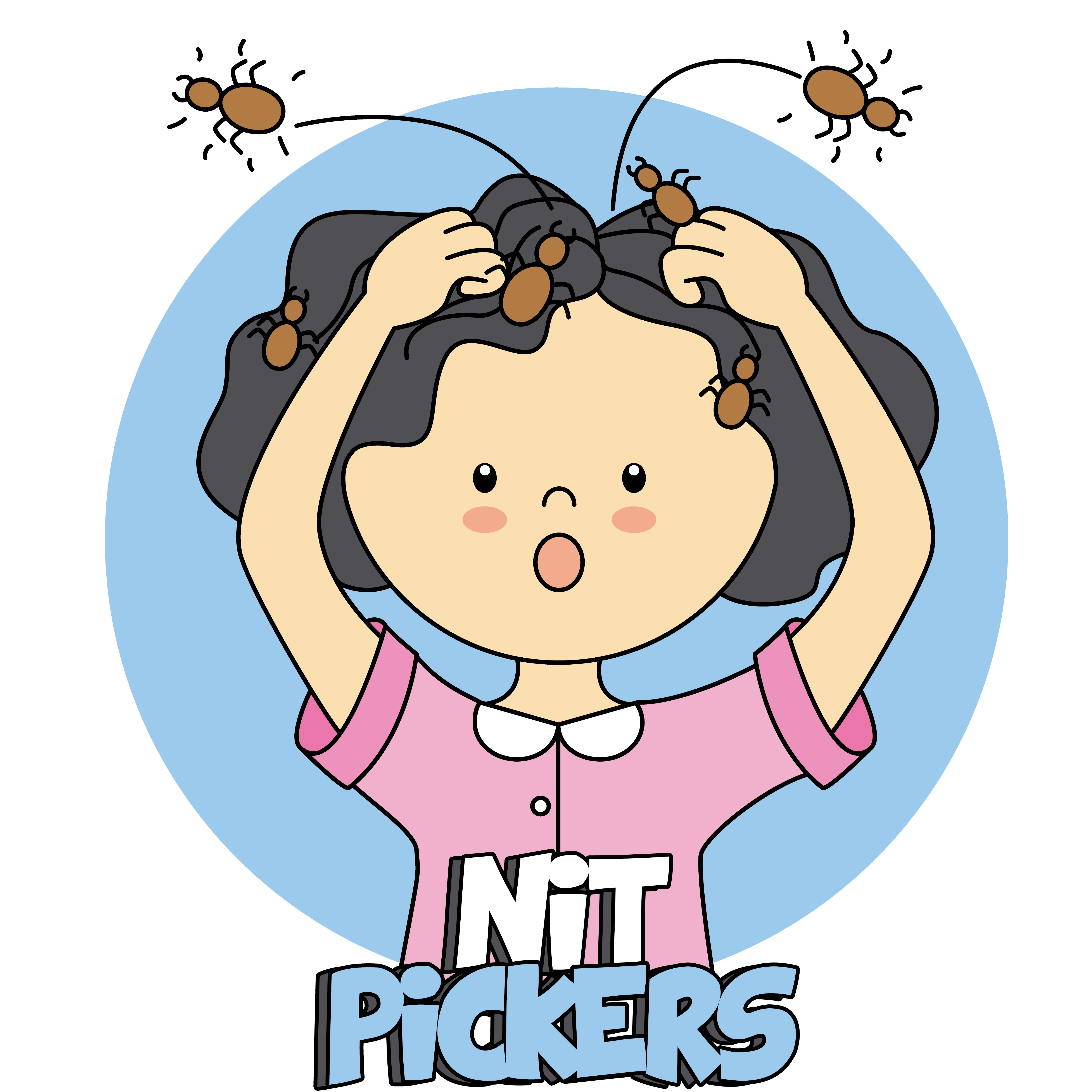 Head louse clipart banner free library Nit Pickers | Premium Head Live & Nit Removal banner free library