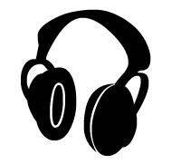 Head phones clipart vector library Headphones Clip Art Free | Clipart Panda - Free Clipart Images vector library