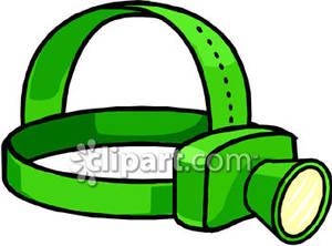 Headlamp clipart