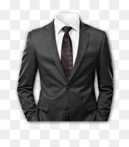 Headless red tie all black suit clipart png black and white library Suit HD PNG Transparent Suit HD.PNG Images. | PlusPNG png black and white library