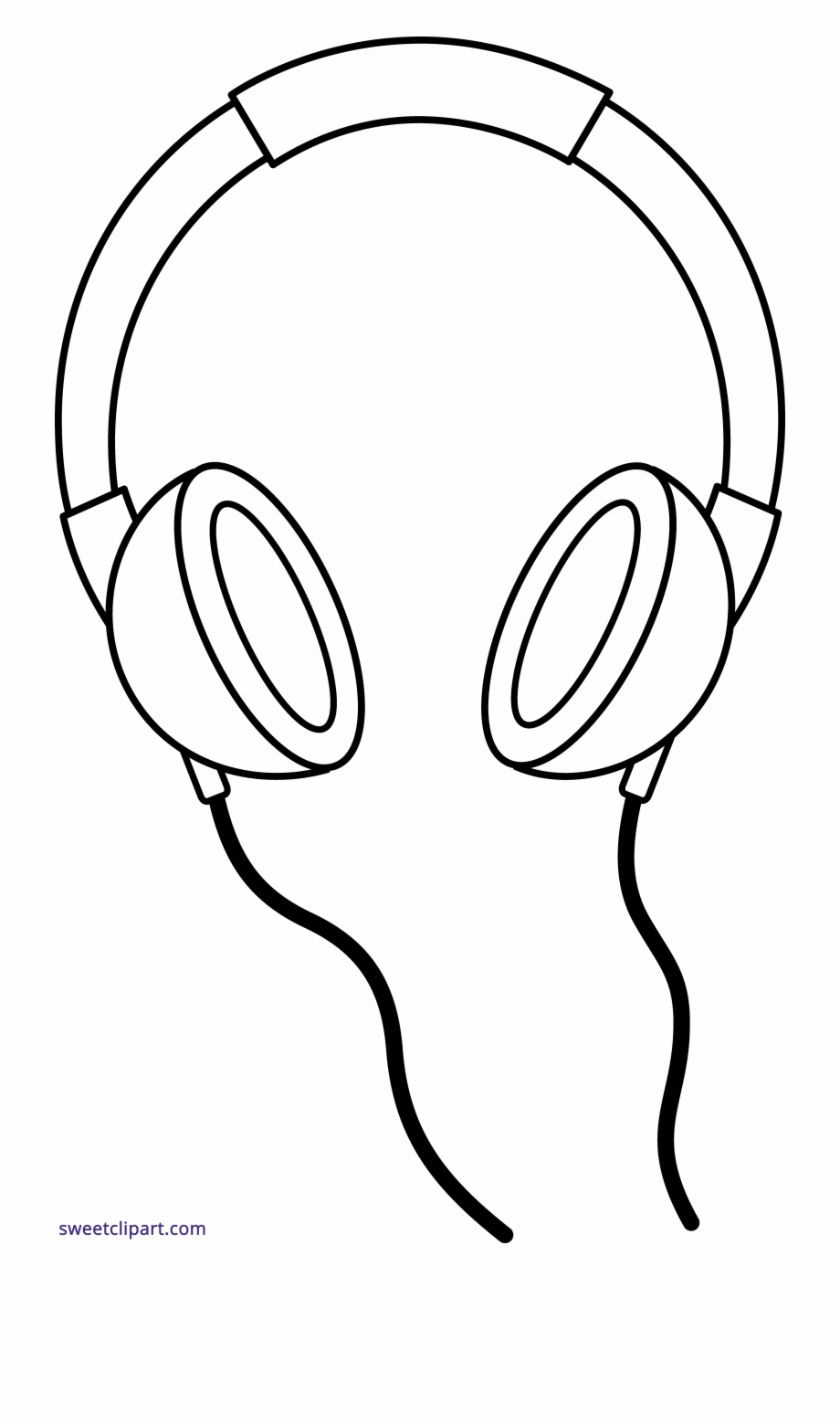 Headphones book clipart banner transparent stock Collection Of Free Hemaphaein Clipart Headphone Line - Headphones ... banner transparent stock