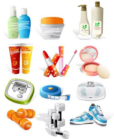 Health and beauty clipart image transparent library Free Health, Sport & Beauty Clipart and Vector Graphics - Clipart.me image transparent library