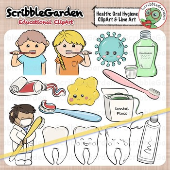 Health and hygiene clipart png Dental Health, Oral Hygiene ClipArt png