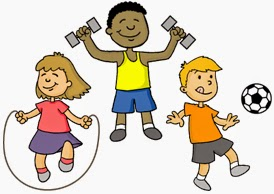Health and wellness images for children clipart svg free Child Health, Nutrition and Safety: Physical Fitness svg free