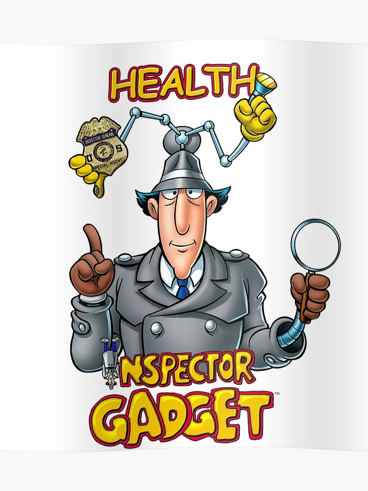 Health inspector clipart clip freeuse download Health Inspector Gadget   Poster clip freeuse download