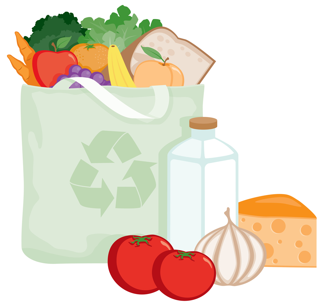 Healthy food bank clipart picture library stock Food Bank Bag Clipart - Clipart Kid picture library stock