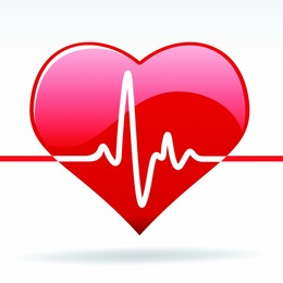 Healthy heart clipart free vector transparent library Heart Rate clipart - About 342 free commercial ... vector transparent library
