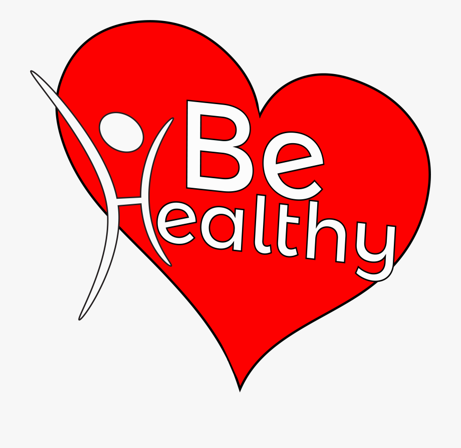 Healthy heart clipart free vector free download Healthy Clipart Jpg Black And White Library - Heart Health ... vector free download