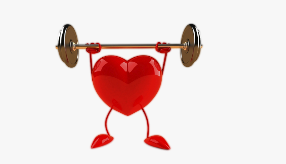 Healthy heart clipart free image freeuse stock Healthy Heart Clipart - Power Component Of Fitness #1416178 ... image freeuse stock