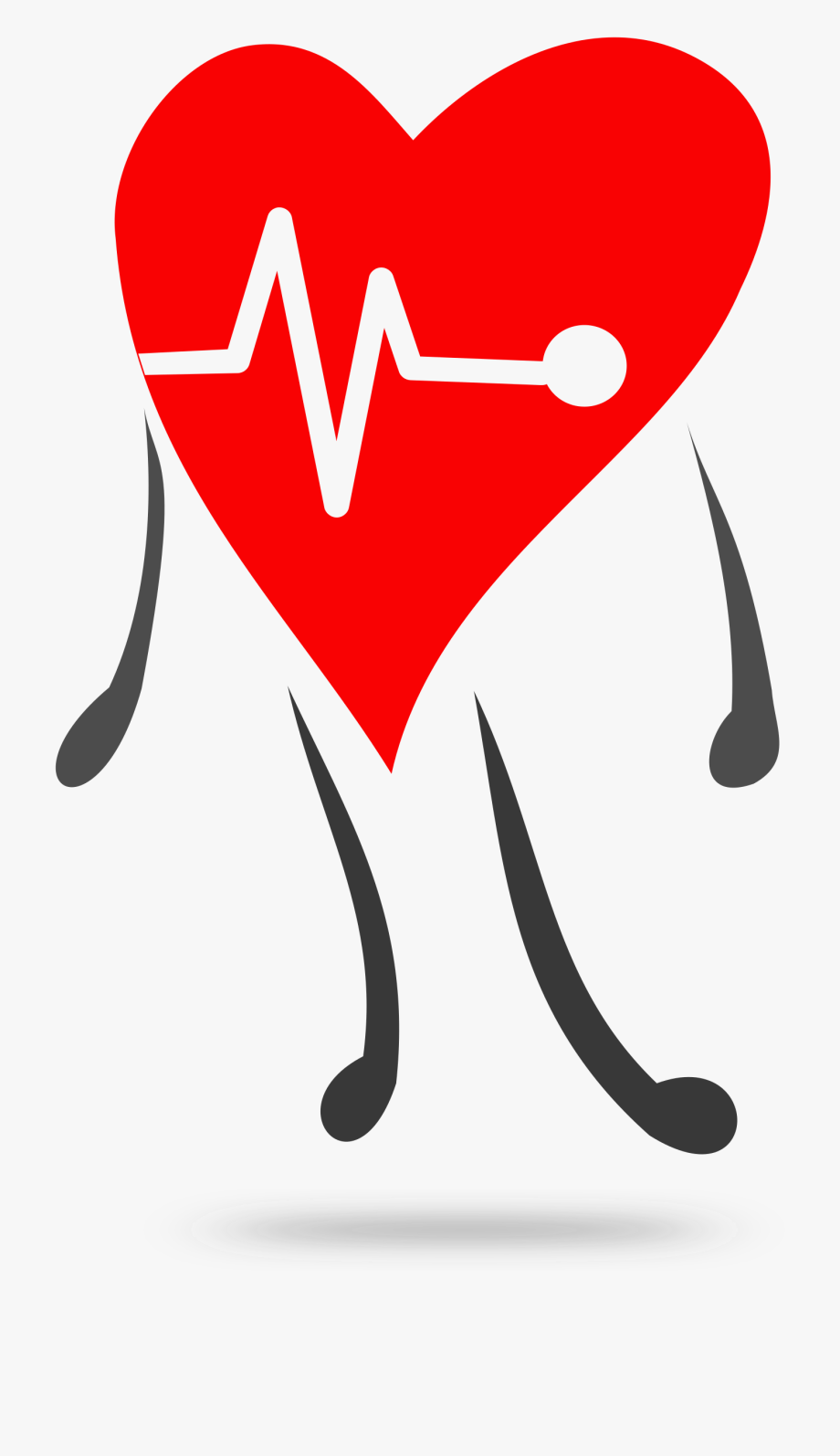 Healthy heart clipart free png black and white stock Heartbeat Clipart Healthy - Heart Health Clipart #163687 ... png black and white stock