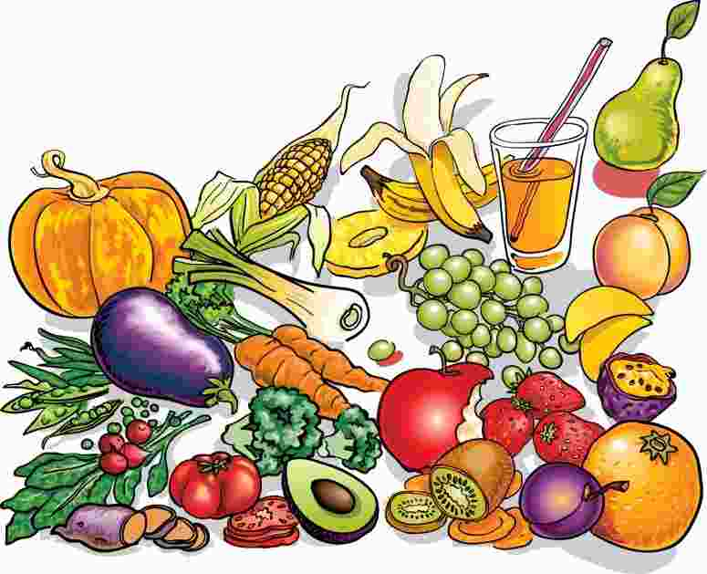 Healthy ingredients clipart clipart royalty free download Cooking Ingredients Clipart image - Clip Art Library clipart royalty free download
