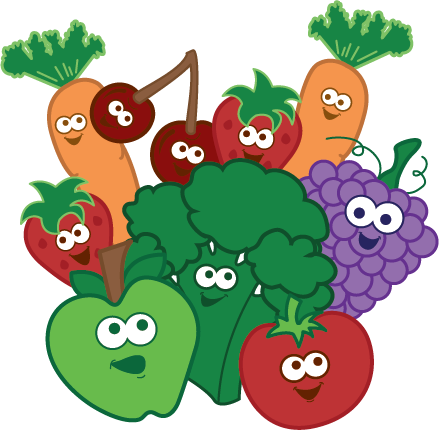 Healthy ingredients clipart svg royalty free download Kids Healthy Eating Tips svg royalty free download