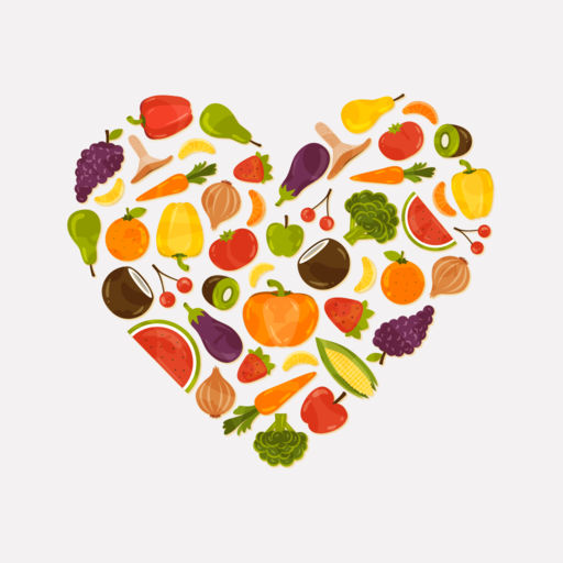 Healthy ingredients clipart vector transparent Heart Healthy Recipes, Ingredients & Meal Plans by Phu Vang vector transparent